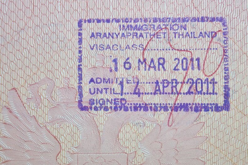 Виза в Таиланд