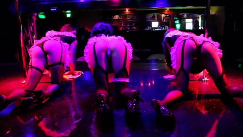 Секс-шоу на улице Волкин Стрит в Паттайе