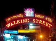 Улица Волкин Стрит в Паттайе