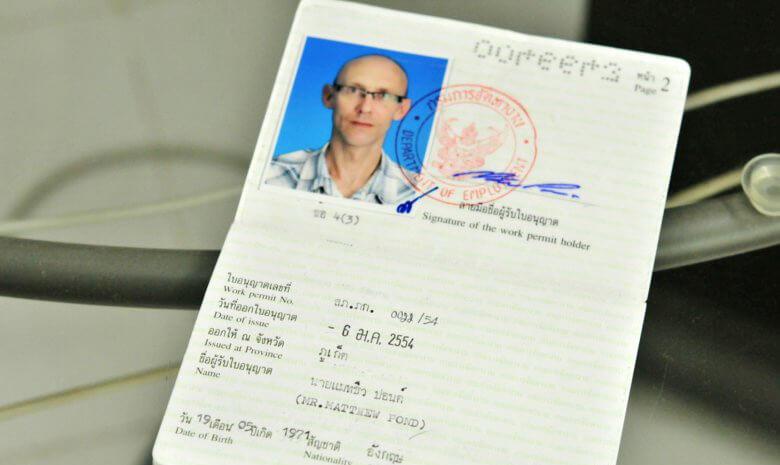 Разрешение на работу в Тайланде