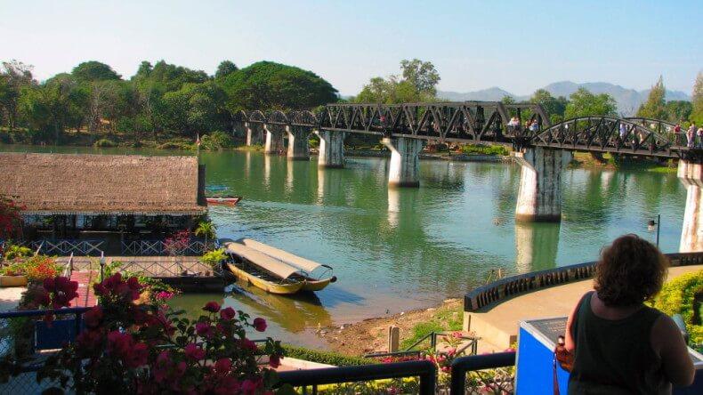 Река Квай в Таиланде