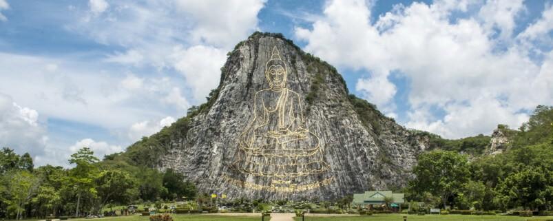 Гора Золотого Будды в Паттайе