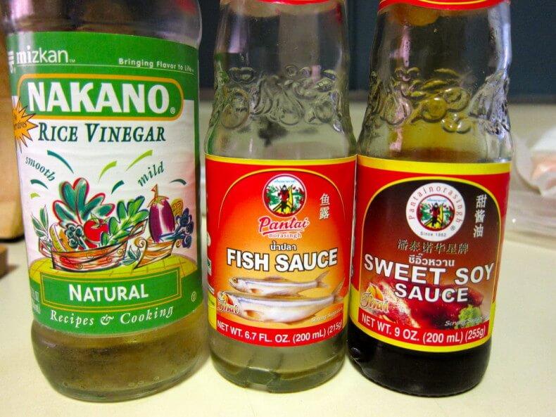 Рыбный соус в Таиланде