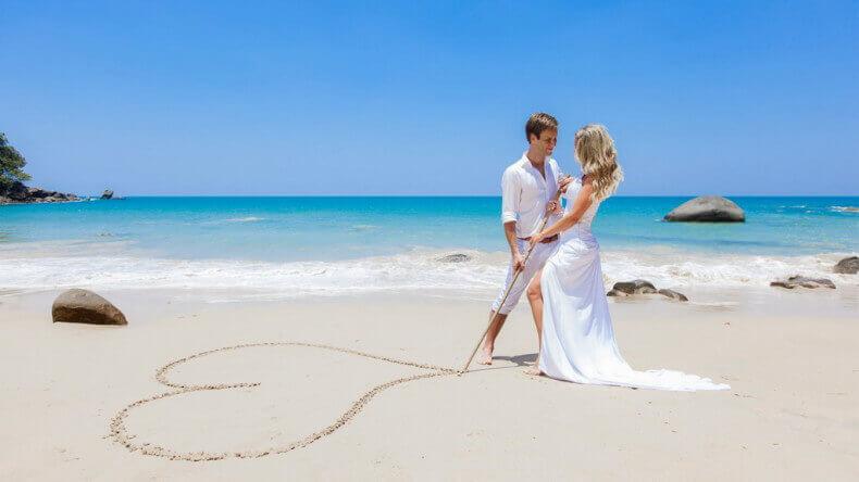 Символическая свадьба в Таиланде