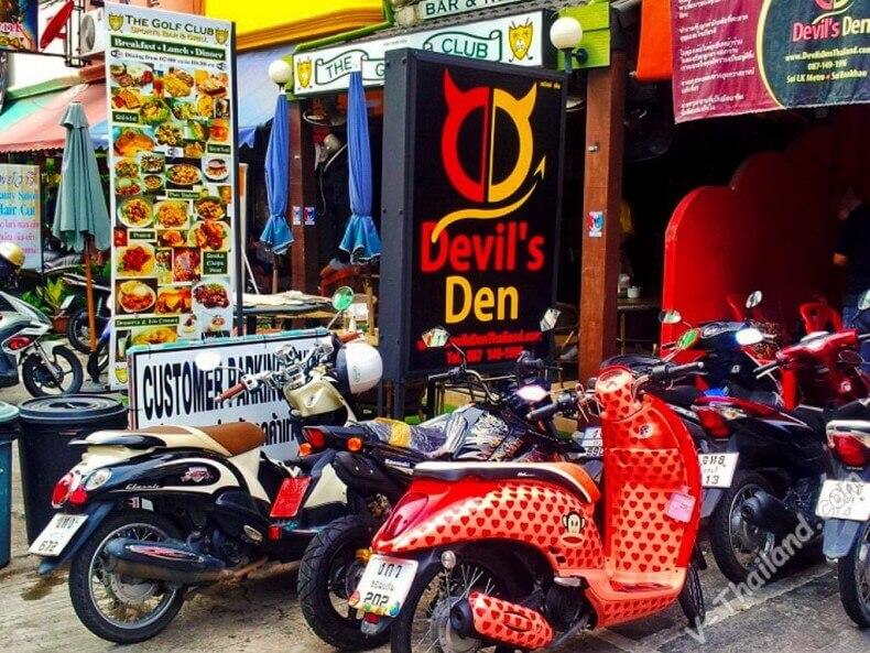 Клуб Devil's Den в Паттайе