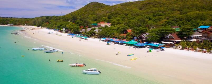 Лучшие пляжи острова Ко Лан