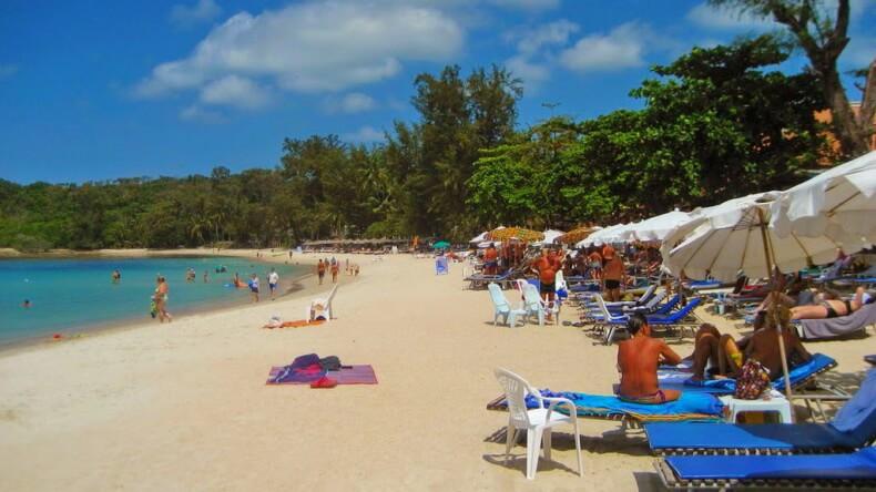 Пляж Чонгмон на острове Самуи