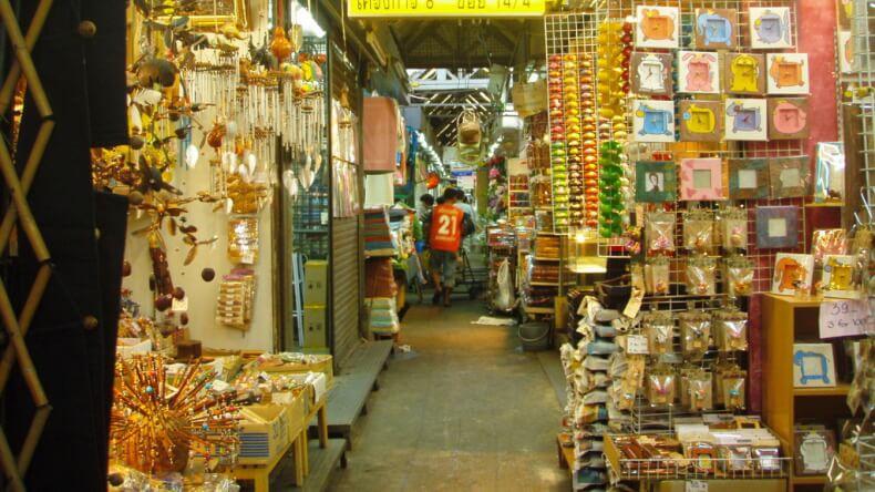 Рынок Chatuchak Weekend Market в Бангкоке
