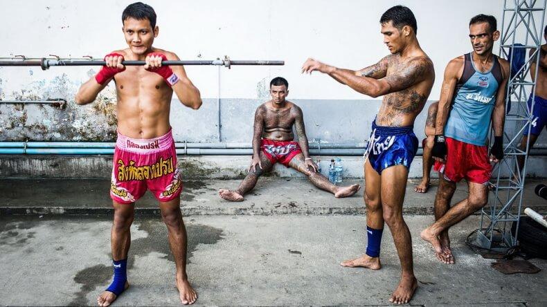 Бои в тайских тюрьмах