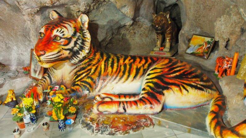 Пещера тигров в Краби