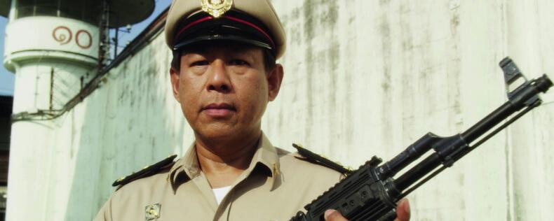 Охранник в тайской тюрьме