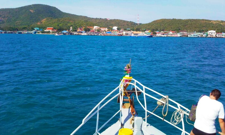 Самостоятельно на остров Ko Лан