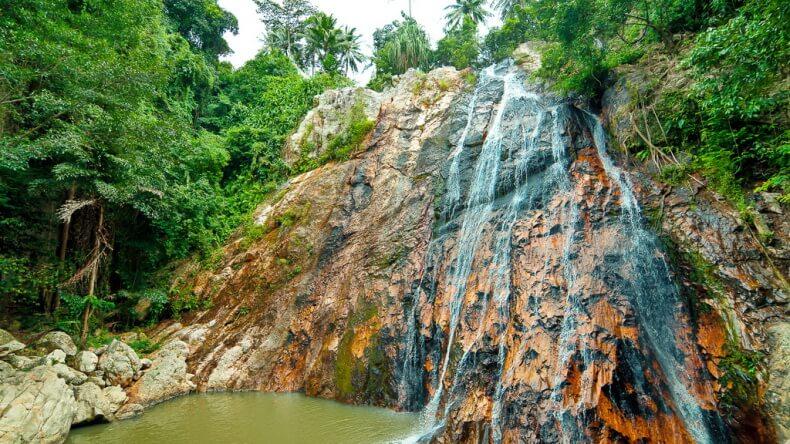 Водопад Намуанг на Самуи