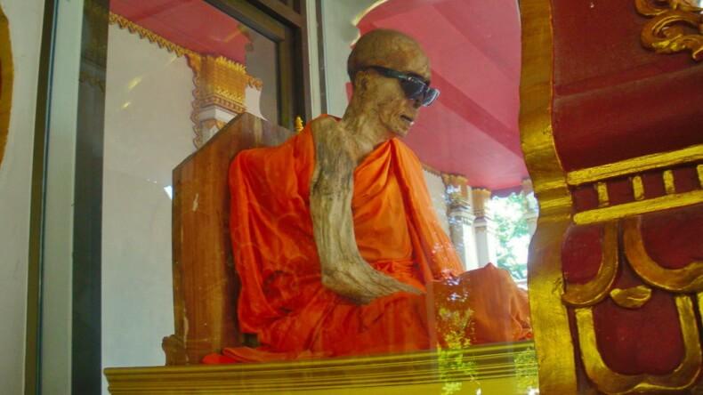 Wat Khunaram на Самуи