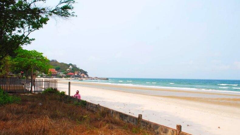 Пляж Тао в Хуа Хине