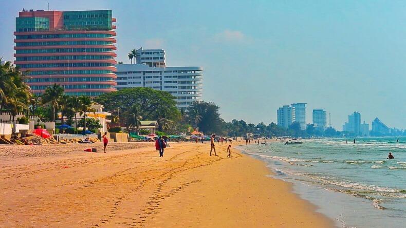 Южный пляж Хуа Хина
