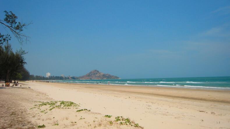 Военный пляж в Хуа Хине