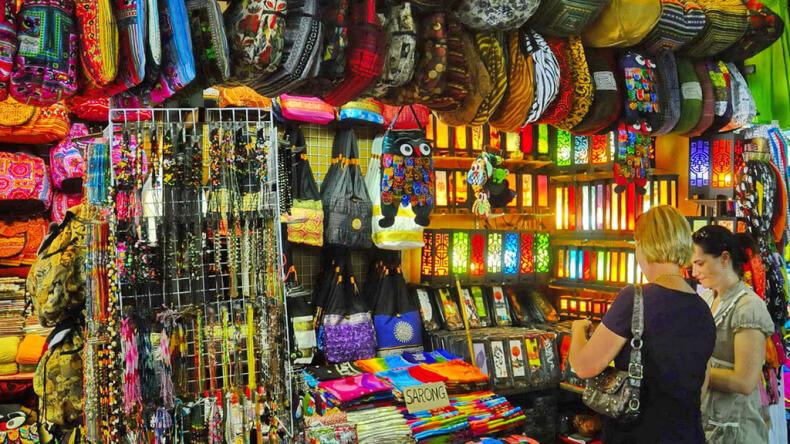 Рынки в Тайланде