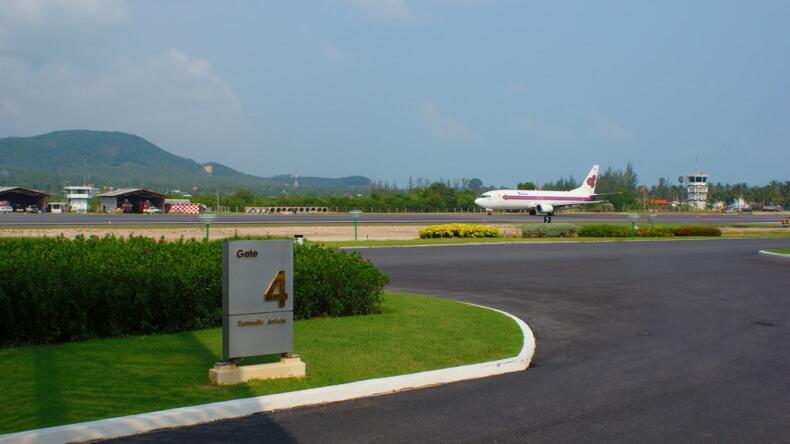 Международный аэропорт Самуи