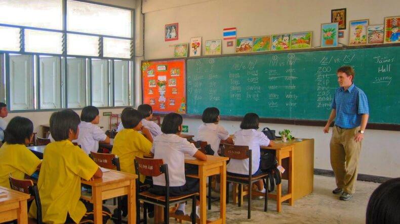 Работа учителем английского в Тайланде