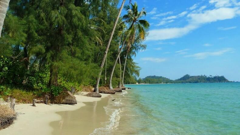 Пляж Клонг Прао на острове Ко Чанг