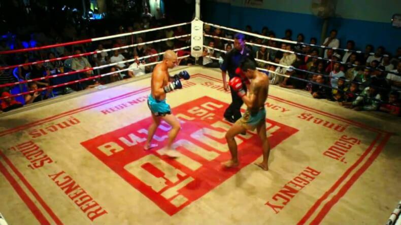 Тайский бокс в Хуа Хине