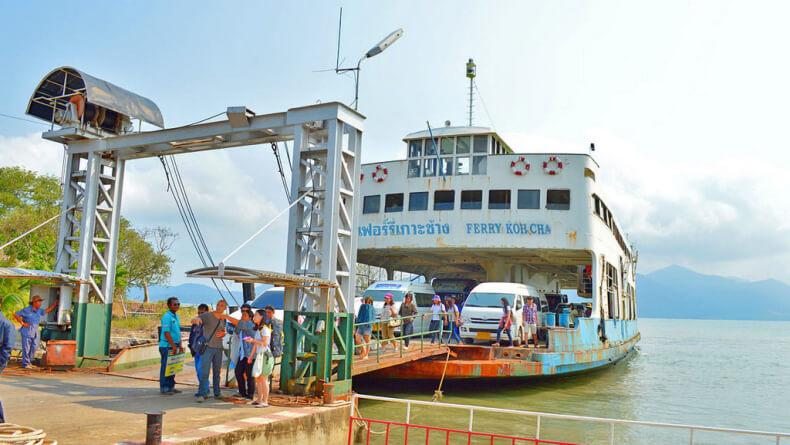 Паром на остров Ко Чанг