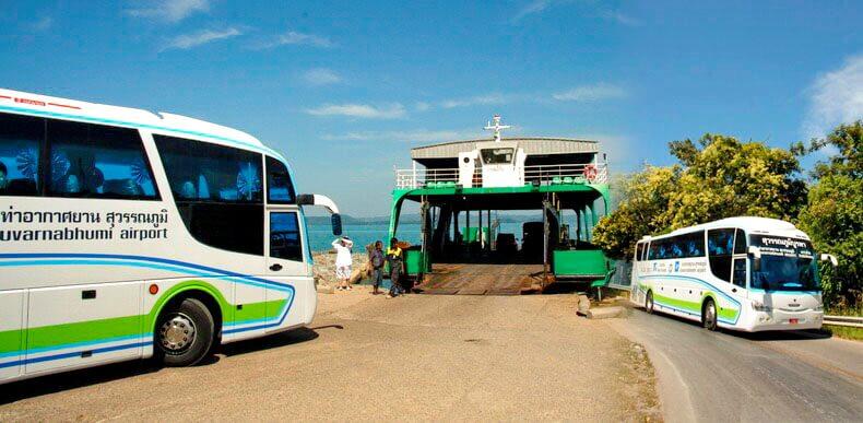 Автобус Паттайя - Ко Чанг