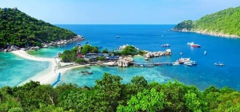 Остров Ко Тао в Тайланде