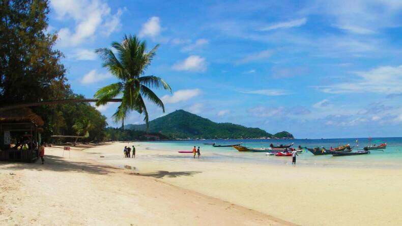 Пляж Сайри на острове Ко Тао