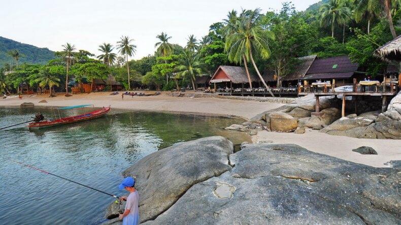 Пляж Мае Хаад на острове Ко Тао