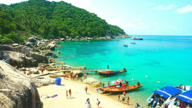 Пляж Манго на острове Ко Тао