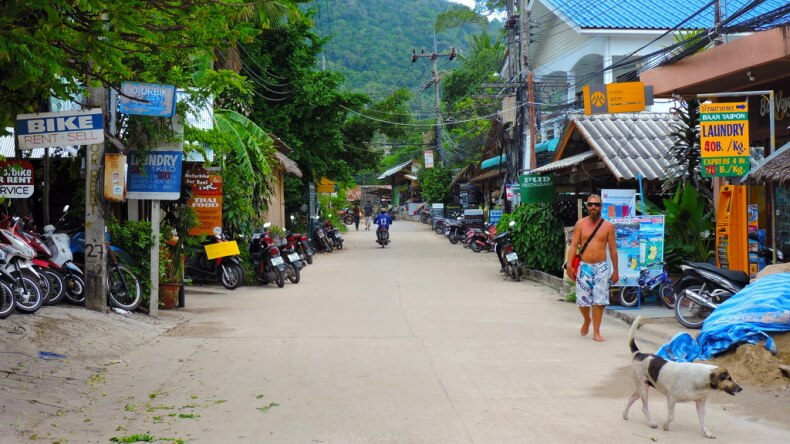 Аренда байка на острове Ко Тао