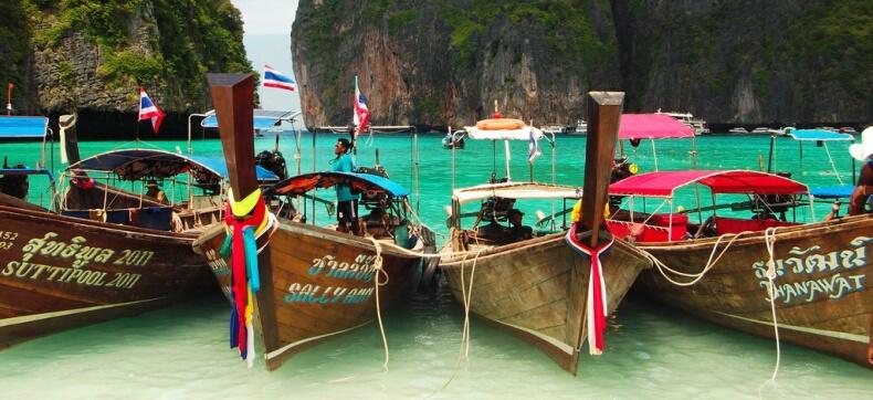 Лонгтейлы в Тайланде