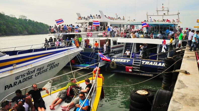 Паромы в Тайланде