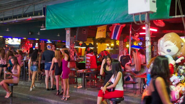 Минет-бары в Паттайе