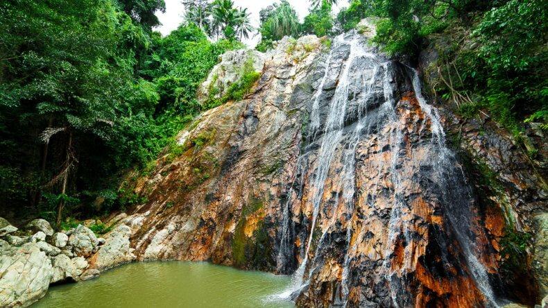 Водопад Na Muang 1 на Самуи