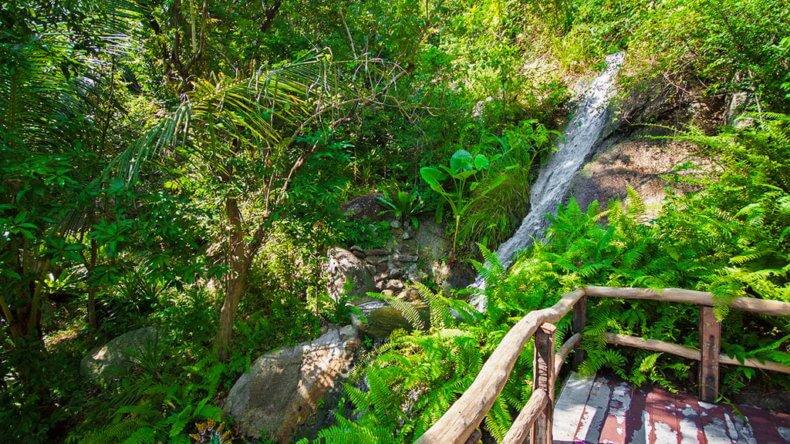 Водопад Siva Tara на Самуи