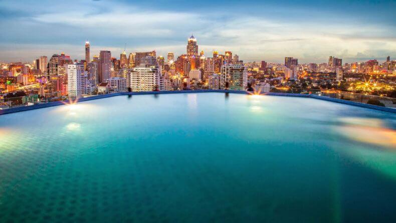 Смотровые площадки Бангкока - отель Column