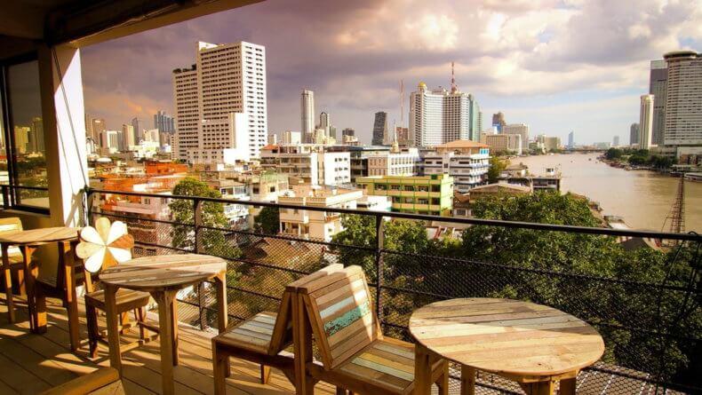 Смотровые площадки Бангкока - ресторан River Vibe
