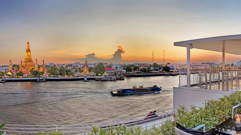 Смотровые площадки Бангкока - отель Sala Rattanakosin