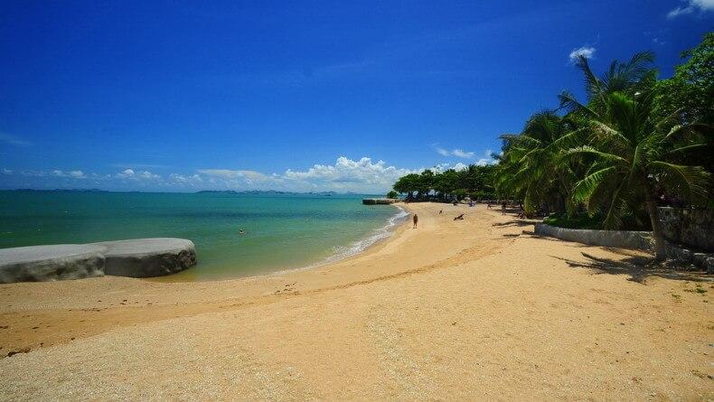 Пляж Наклуа в Паттайе