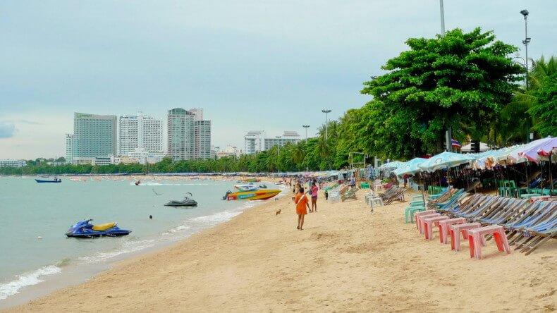 Пляж Паттайя Бич