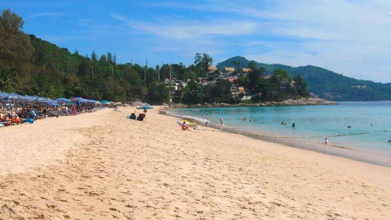 Пляж Сурин на Пхукете