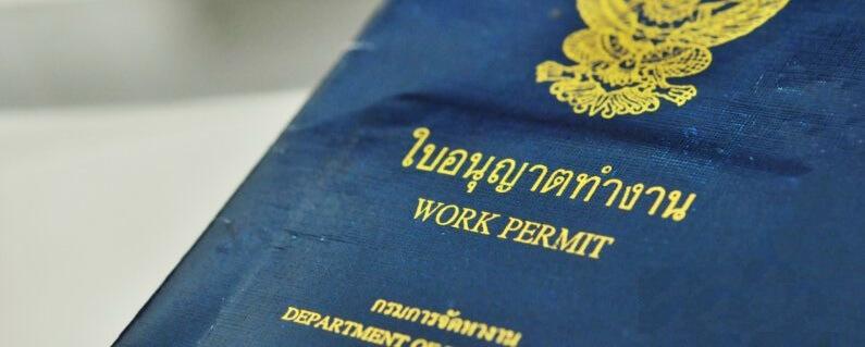 Разрешение на работу в Таиланде
