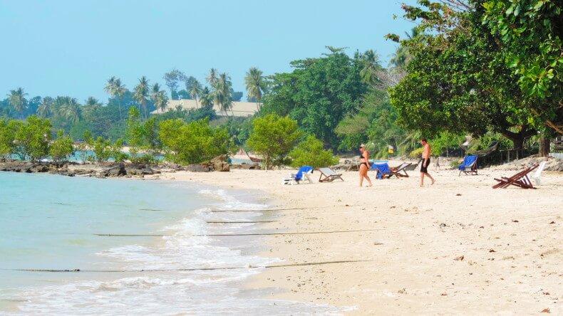 Пляж Клонг Муанг в провинции Краби