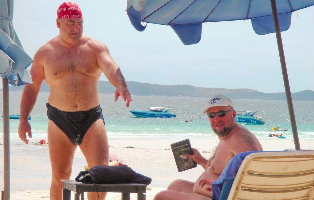 Как сексом занимаются российские туристки на курортах видео
