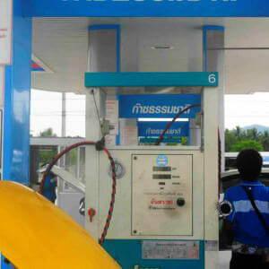 Газовая заправка в Тайланде