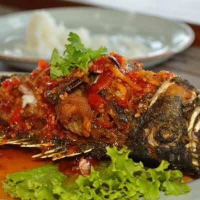 """Рыбный ресторан """"Kan Eang @pier"""" на Пхукете"""