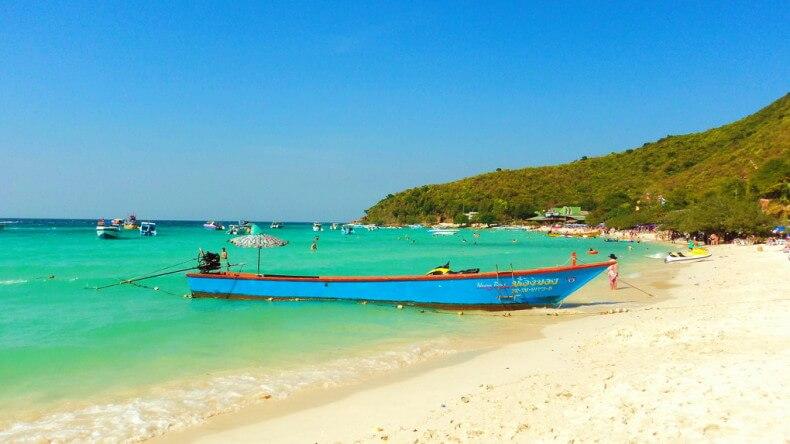 Пляж Тьен на острове Ко Лан